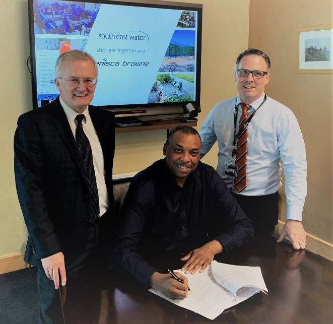 Enisca Browne secure South East Water contract extension