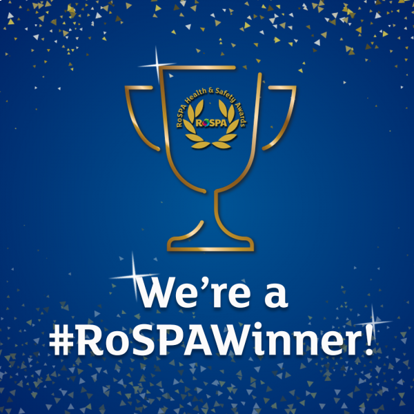 Third RoSPA Gold Award for Enisca